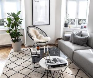 apartment, boho, and carpet image