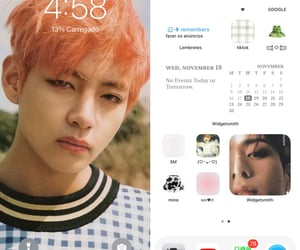 aesthetic, iphone, and kpop image