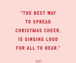 cheer, christmas, and elf image