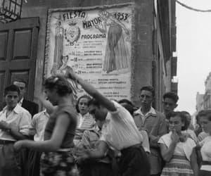greeneyes55:  Fiestas de Gràcia Barcelona 1953  Photo: Francesc Catala Roca