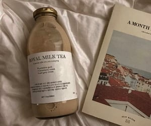 aesthetic, beige, and book image