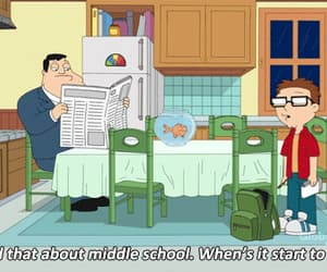 american dad, series, and animated image