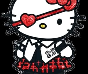 alt, hello kitty, and blingee image