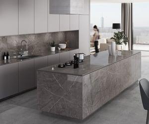 granite, home, and kitchen image
