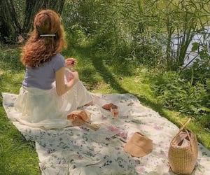 picnic, aesthetic, and cottagecore image