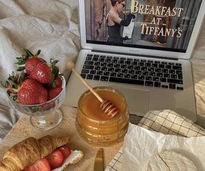 food, breakfast, and honey image