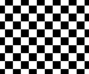 background, black and white, and checkerboard image