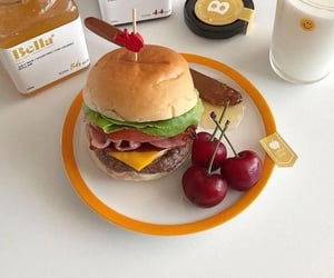 aesthetic, burgers, and delicious image