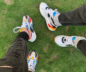 couple, shoes, and couple goals image