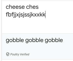 gobble, gobbble, and googble image