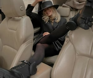 backseat, beautiful, and black image