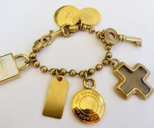 etsy, estate jewelry, and chunky bracelet image