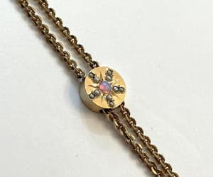 etsy, estate jewelry, and antique slide chain image