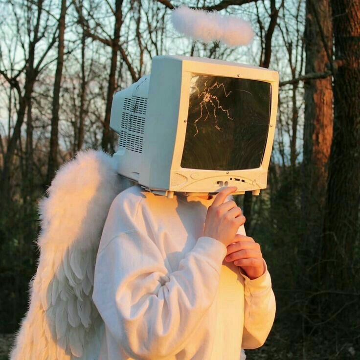 forest, angel, and tv image