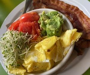 avocado, breakfast, and egg image