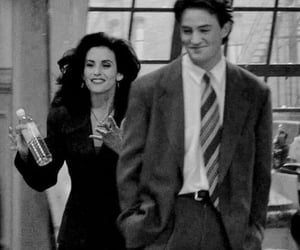 90s, b&w, and friends image