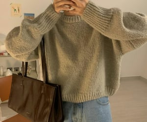 casual, fashionable, and sweaters image