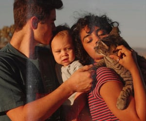 cats, family, and kids image