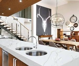 kitchen island and stone showroom image
