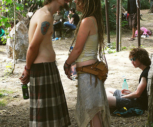 dreads, hippie, and love image