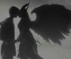 aesthetic, angel, and couple image