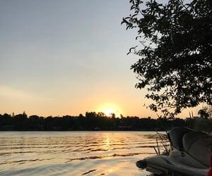 boat, fishing, and Kenya image
