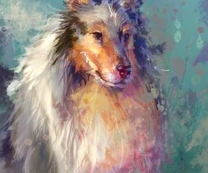 dog, illustrations, and art image
