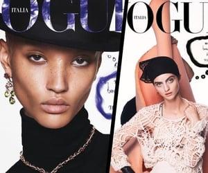 fashion magazine, fashion news, and vogue italia cover image