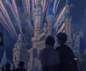 background, disney castle, and fun image