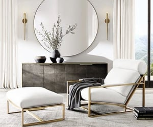white, decor, and home image