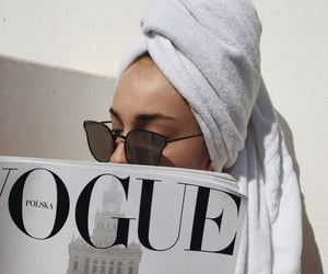 vogue, fashion, and white image