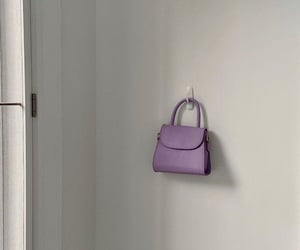 purple, bag, and aesthetic image