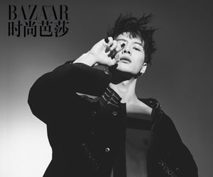 bazaar, idol, and kpop image