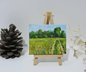etsy, oil painting canvas, and landscape art image