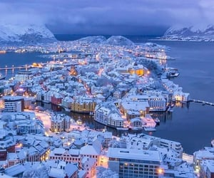 winter, beauty, and norway image
