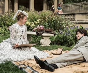 little women, florence pugh, and amy march image