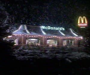 christmas, gif, and mcdonald's image