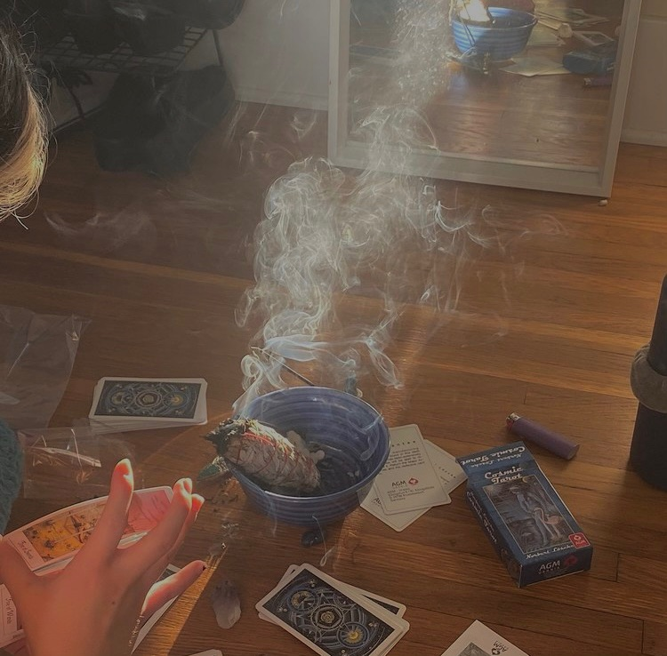 tarot, witchcraft, and crystals image