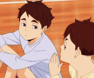hq, anime, and haikyuu image