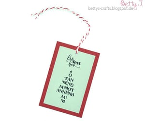 cardmaking, christmas, and diy image
