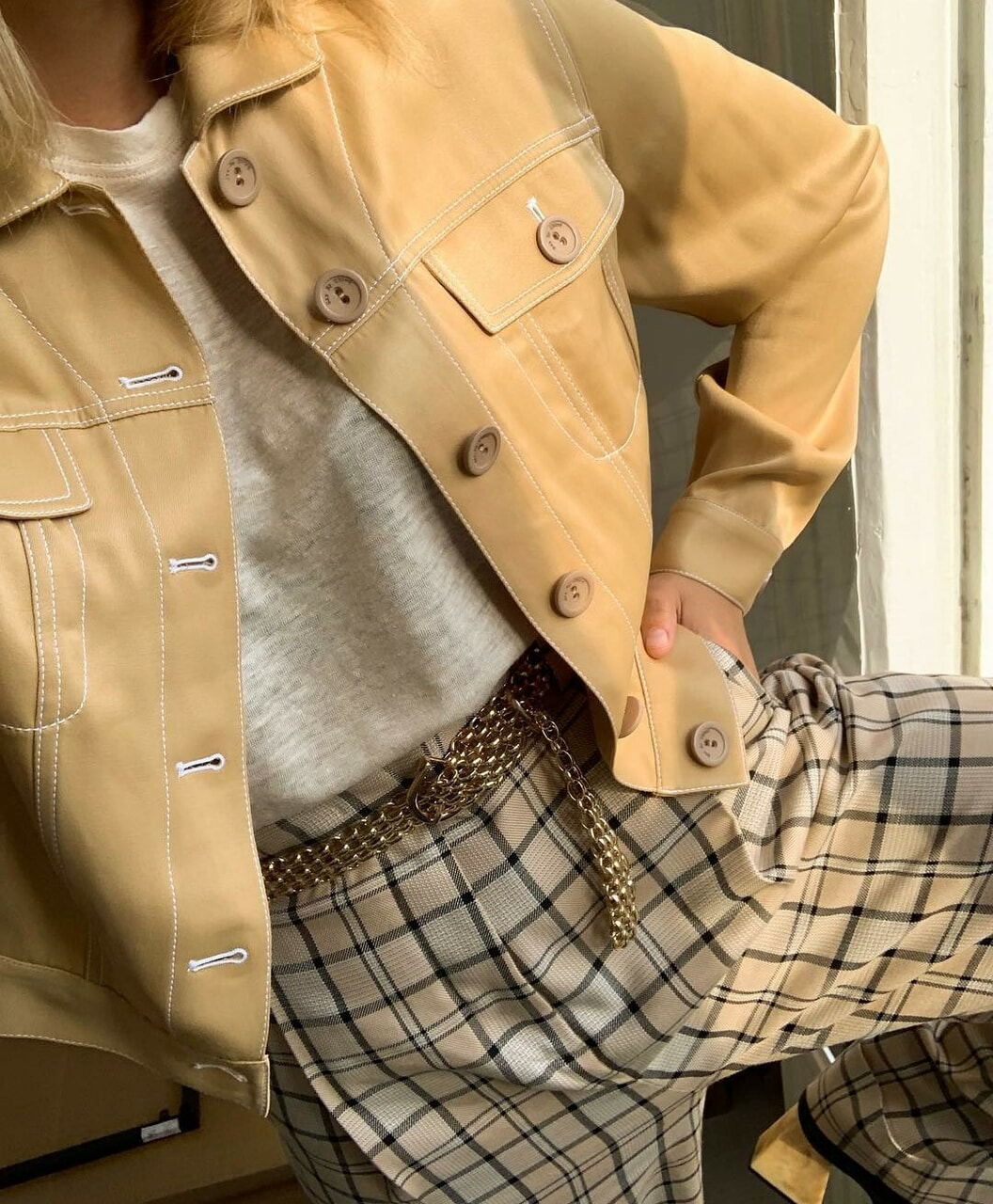 fashion, beige, and chic image