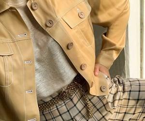 fashion, beige, and belt image