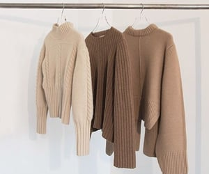 fashion, beige, and brown image