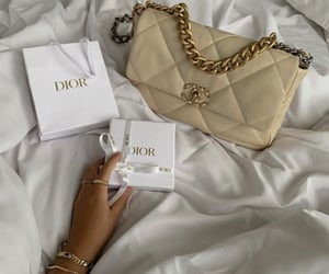 chanel, jewelry, and bag image