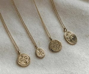 jewelry, necklace, and rings image