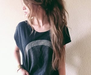 beautiful, girly things, and hairstyle image