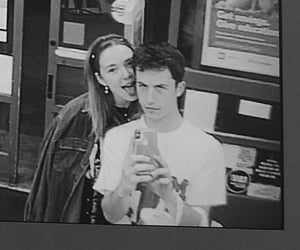 couple, dylan minnette, and wallows image