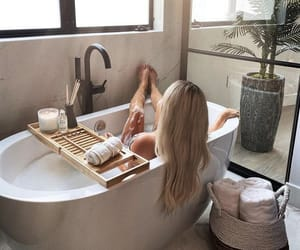 beauty, blonde hair, and moments image