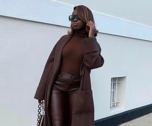 brown, fashion, and melanin image