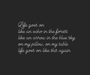 be, Lyrics, and quote image